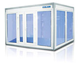 POLAIR Professionale Coldrooms with Glass