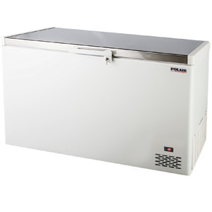 POLAIR  Grande solid lid chest freezers
