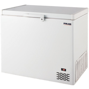POLAIR Standard solid lid chest freezers